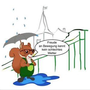 Bubenheimer Spieleland Regen Regenwetter